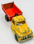 Hubley 458 Kiddie Toy Dump Truck In Original And Well Loved Toy For Collectors