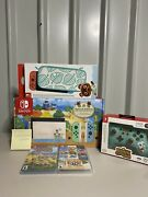Nintendo Switch Animal Crossing 🐻🎮edition Console Bundle. Ships Today