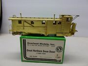 Overland Models 1680-1694 - Brass Great Northern Snow Dozer Ho Scale