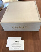 Wooden Wine Crate Exclusive Limited Item New