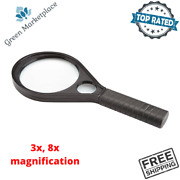 Jumbo Magnifying Glass Large Small Lens For Maps Globes Small Print Book Reading