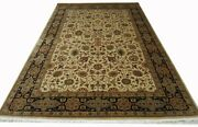 Hand Knotted High End Luxurious Rug 6.10 X 10.1 Feet Very Soft And Fine Wool