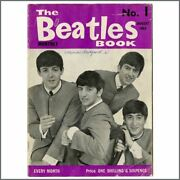 The Beatles Book Monthly Magazines Complete Set 1-77 Uk