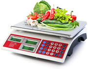 Camry Digital Commercial Price Scale 66lb / 30kg For Food Meat Fruit Produce Wit