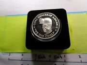 Coal Miners Of America We Dig Coal Engraveable Very Rare 999 Silver Coin Case