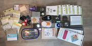 Stampin Up Huge Lot Of Stamps, Punches, Markers, Sizzix, Box Shot, And More