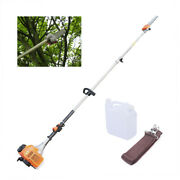 52cc 2-stroke Gas Powered Pole Saw Cordless Chainsaws Tree Trimmer Tool Us