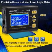 Super Laser Level Angle Finder 0.005 Professional Dual-axis Digital Inclinometer