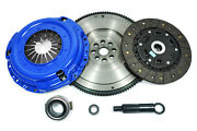 Ppc Racing Stage 2 Clutch And Flywheel For 1981-83 Nissan 280zx Turbo 2.8l V6 Sohc