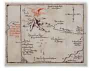Middle Earth Map Poster / Lonely Mountain / The Lord Of The Rings | The Hobbit
