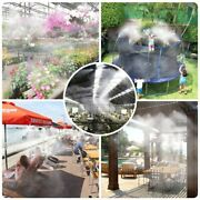 Greenhouse Misting System Indoor Outdoor Automate Watering Garden Plant Flowers