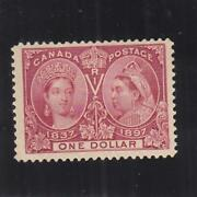 Canada 1.00 Jubilee Issue, Sc 61, Mh 38499