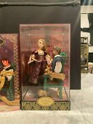 Disney Store Designer Fairytale Collection Doll Rapunzel And Flynn Limited Ed.