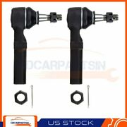 New 2pc Outer Tie Rod Links Steering Part Es3459 For Chevrolet Impala