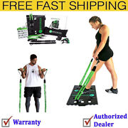Bodyboss Home Gym 2.0 Full Portable Gym Workout Package 2 Resistance Bands