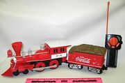 Lionel New 1886 Coca-cola Holiday G-gauge General-style Locomotive And Tender