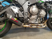 Kawasaki Works Zx10r Link Low Mount Full Exhaust System Graves Exk-16zx1-ftcl