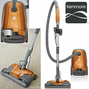 Kenmore 81214 200 Series 2-motor Bagged Canister Vacuum W/ Hepa Filtration New