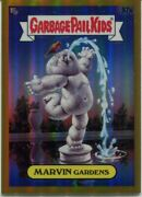 Garbage Pail Kids Chrome Series 3 Gold [50] Base Card 92a Marvin Gardens