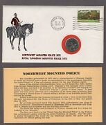 Nothwest Mounted Police 1873 Royal Canadian Mounted Police 1973 25 Cents