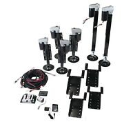 Lippert 675817 Ground Control 6-point Bolt-on 3.0 Electric Leveling System Kit