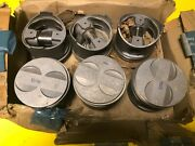 Mercedes M116 Engine W107 R107 W116 Piston X 6 Part 1160306717 Genuine Nos
