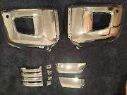 Toyota Tundra Chrome Bumper Ends, Handles, And Mirror Caps 2014-2020