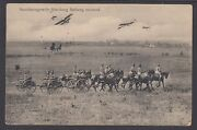 Germany, 1915 Feldpost Real Photo Ppc, Wwi Artillery And Airplanes, F-vf.