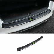 Fit For Kia Optima K5 2016-2020 Black Outer Rear Bumper Plate Mouldings Fits 1pc