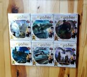 6 Harry Potter 3d 500 Piece Puzzles Wizard Hedwig Hogwarts Express Anglia Dragon