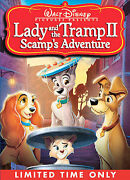 Lady And The Tramp Ii Scamps Adventure Dvd, 2006