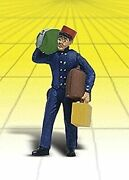 Woodland Scenics G Scale Scenic Accents Figures/people Baggage Porter