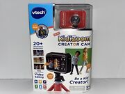 Vtech Kidizoom Creator Cam Camera W/ Selfie Mode And On Screen Video Editing New