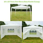 New 10'x10' Canopy Party Wedding Tent Heavy Duty Gazebo Pavilion Cater Events
