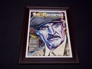 1988 April The Hollywood Reporter Magazine Sean Connery Cover Framed 12 X 15