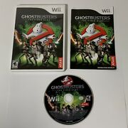 Ghostbusters The Video Game Nintendo Wii, 2009 Complete, Tested, Free Ship