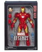 Marvel Legends Iron Man And Captain America 12 Action Figures