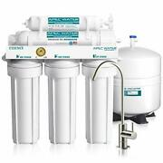 Drinking Water Filter System Reverse Osmosis 5-stage Under Sink Quick Connect