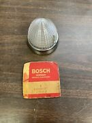 Vintage 1960and039s Amphicar Bosch Clear Parking Light Turn Signal Lens Nos 1220