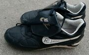 Robin Ventura Chicago White Sox Game Used + Signed Baseball Cleats