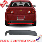 Rear Bumper Lower Valance Extension Textured For 2008-2012 Chevrolet Malibu