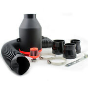 Car Cold Air Kit For Engine Clean Air Inlet Intake Ducts High Flow Filters Kits