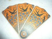 Vtg Advertising Folding Fan Lincoln Income Life Insurance Louisville Ky S-71