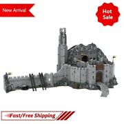 The Lord Of The Rings Helm's Deep Model Building Block Bricks Kids Assemble Toys