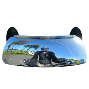 Motorcycle Windshield 180 Degree Blind Spot Rearview Mirror Wide Angle Mirrors