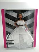 Barbie 60th Anniversary Barbie Doll Signature Collection Black Label