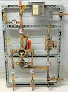 Leonard 2n Megatron Thermostatic Mixing Valve System, 3/4 Inlets, 1 Outlet