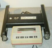 Ohaus B25s I10s Weight Display With 50 Lb Weighing/counting Scale For Parts