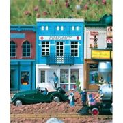 Piko G Scale Model Train Buildings - Dr Goldsteinand039s Pharmacy - 62207