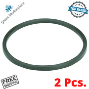Replacement Rubber Belt For Rotary Rock Tumbler Chicago Electric Belts 2 Pieces